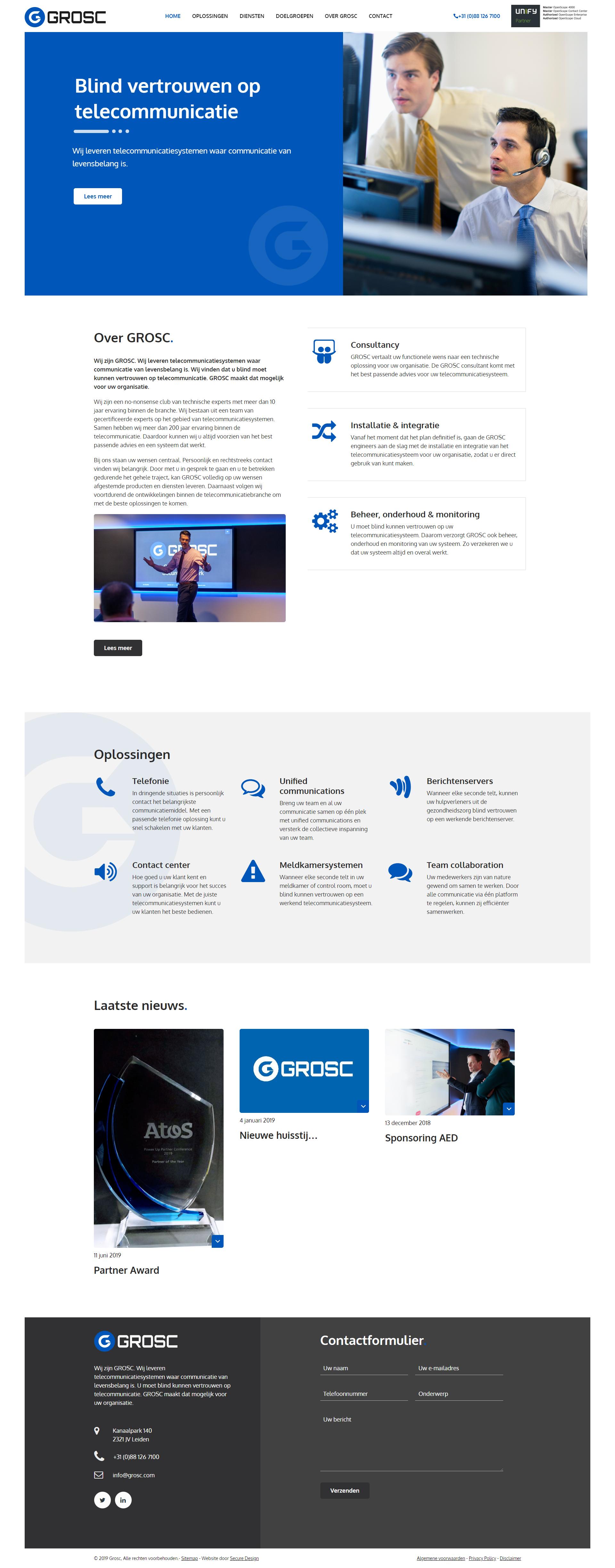 website GROSC