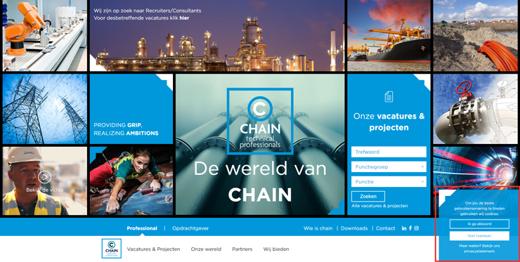 pop-ups op je website
