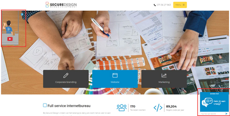 pop-ups op je website